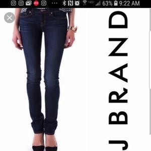 J Brand Ink skinny pencil leg size 26x32 *